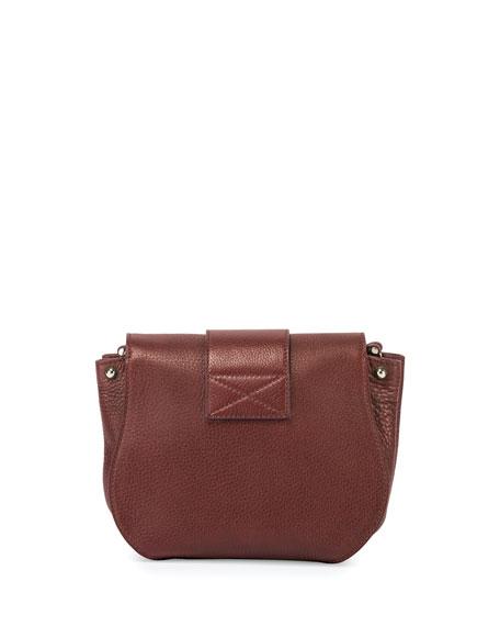 Roger Vivier Pilgrim De Jour Leather Crossbody Bag dae5370f21529