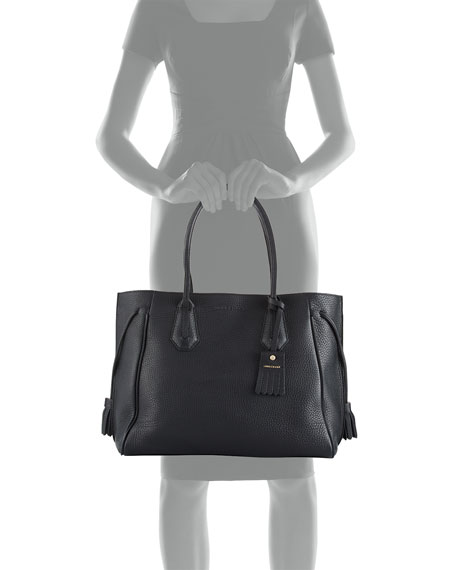 Penelope Large Leather Tote Bag