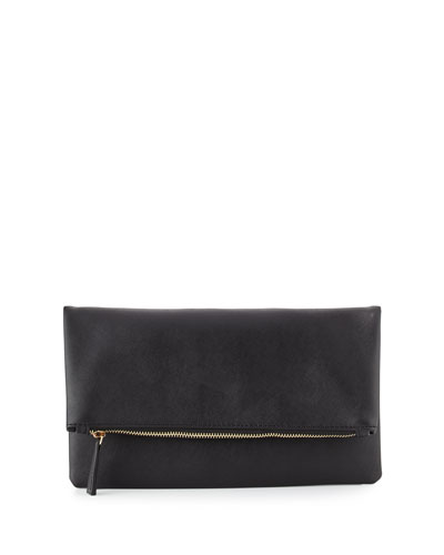 Glitter Girl Fold-Over Clutch Bag
