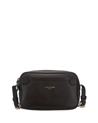 Longchamp 2.0 Crossbody Bag, Mocha/Black