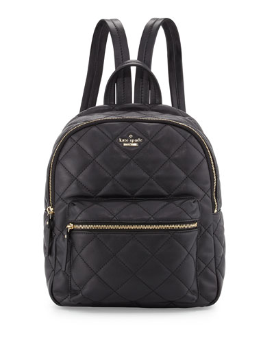 emerson place ginnie backpack, black