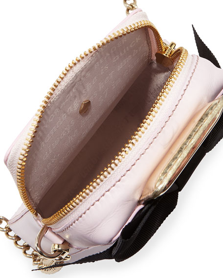 on pointe perfume bottle crossbody bag, pink/multicolor