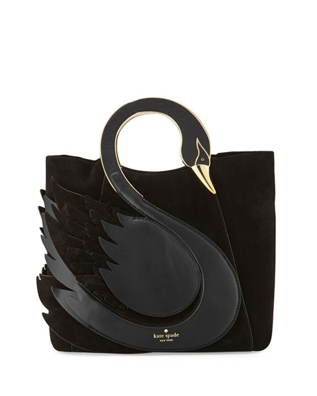Kate Spade New York On Pointe Swan Handle Bag Black
