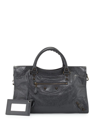 Giant 12 Brass City Bag, Dark Gray