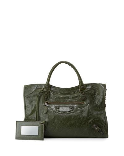 Giant 12 Brass City Bag, Dark Green