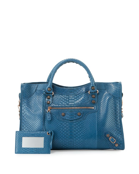 Giant 12 Python City Bag, Blue
