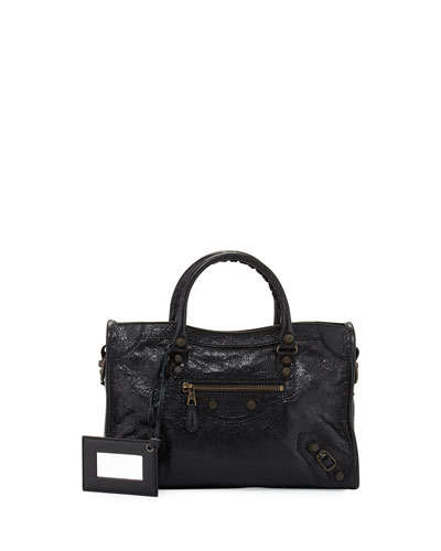 Giant 12 Brass City Small AJ Bag, Black
