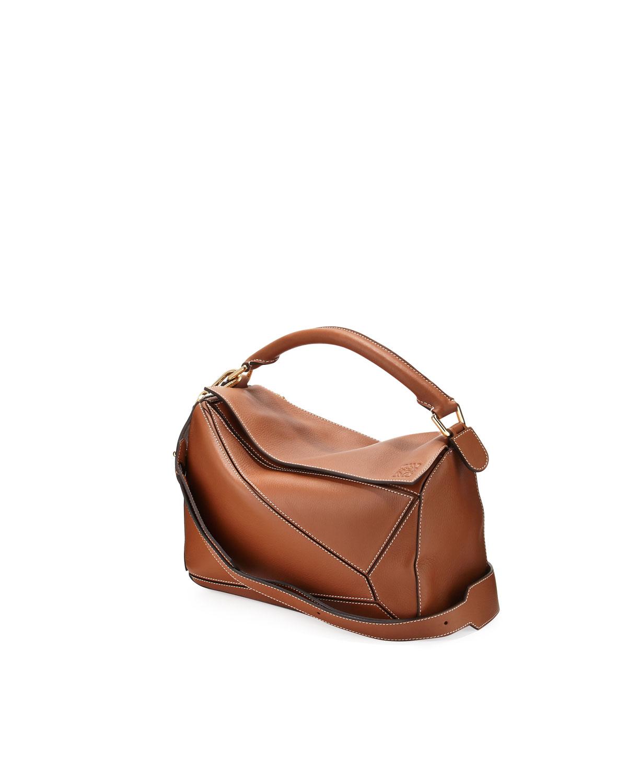 e4336ed30e19 Loewe Puzzle Small Leather Satchel Bag