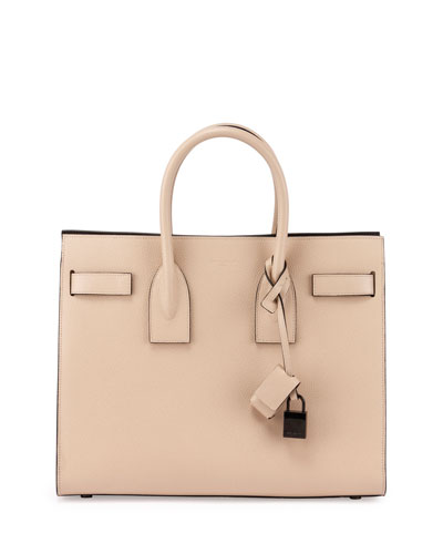 Sac de Jour Small Satchel Bag, Nude/Black