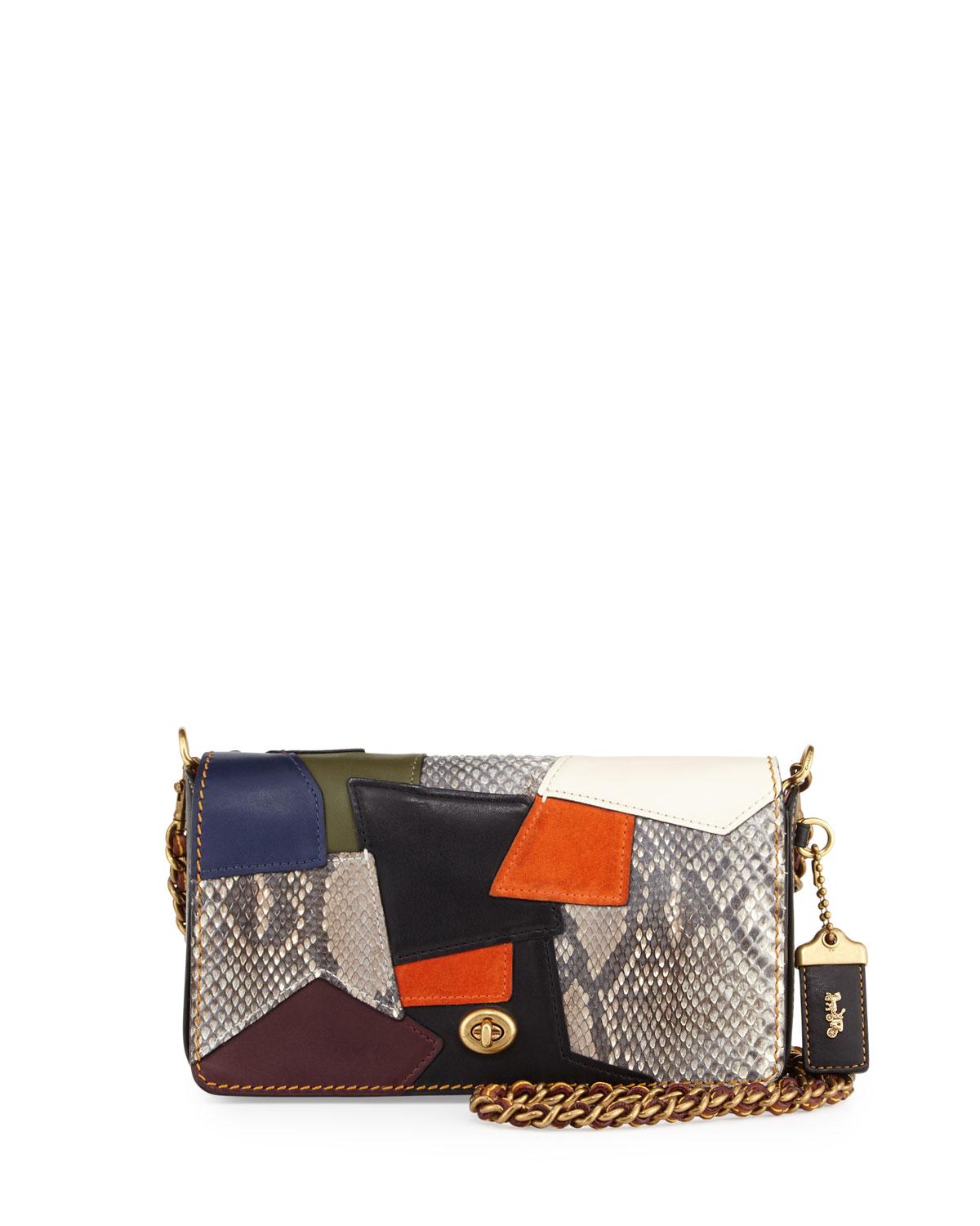 Coach 1941 Dinky Small Patchwork Crossbody Bag f3b1924cc178a