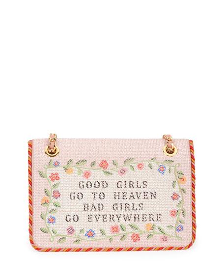 Moschino Good Girls Go To Heaven Shoulder Bag Nude