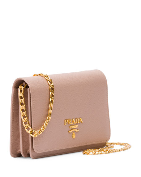 20ae8 9d68b  purchase prada saffiano lux crossbody bag blush cameo neiman  marcus ec2d2 42b21 05e38962895a7