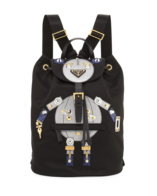 d6de33e9357c Prada Nylon Robot Backpack