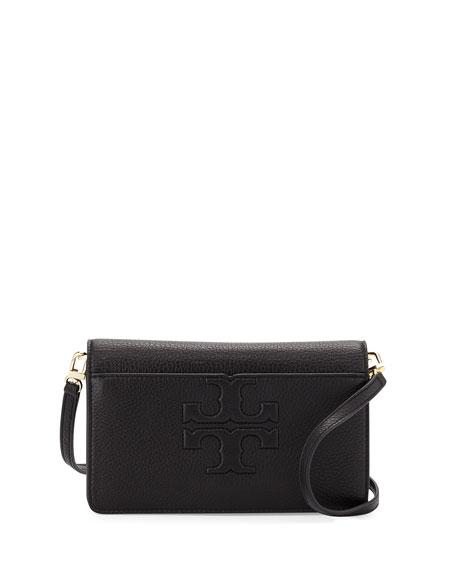 Tory BurchBombé-T Small Crossbody Bag, Black
