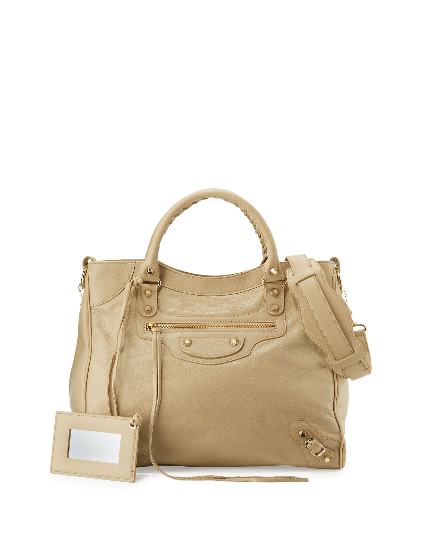 0393e1dfda BalenciagaGiant 12 Gold Velo Lambskin Tote Bag