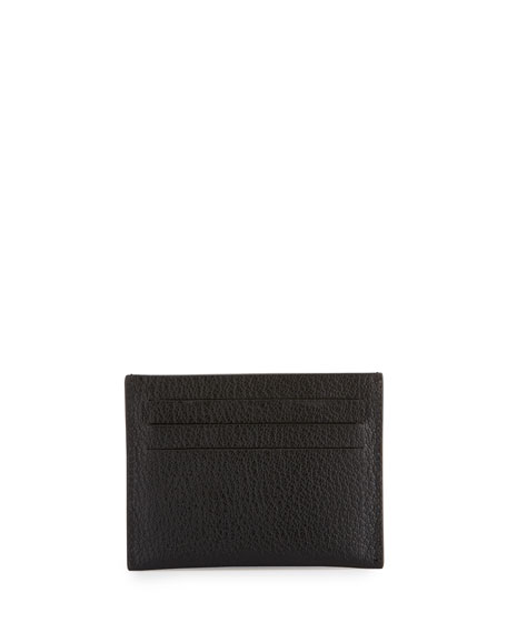 Pandora Leather Card Holder, Black