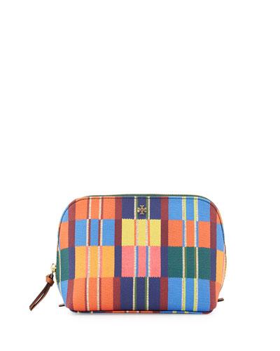 Kerrington Striped Cosmetics Bag, Blanket Stripe