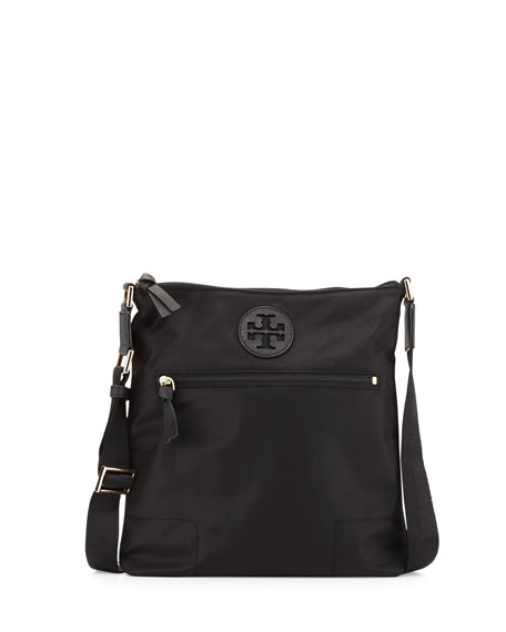 Tory Burch Ella Nylon Swingpack Bag, Black