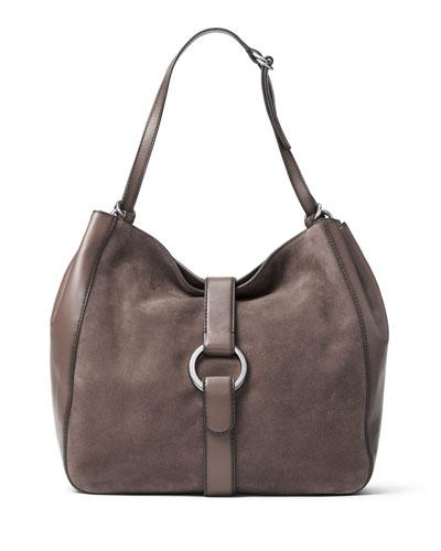 Quincy Large Shoulder Bag, Cinder