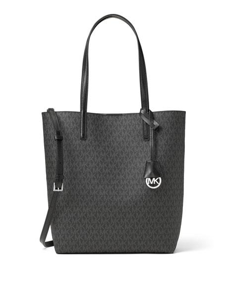 Hayley Large North-South Logo-Print Tote Bag
