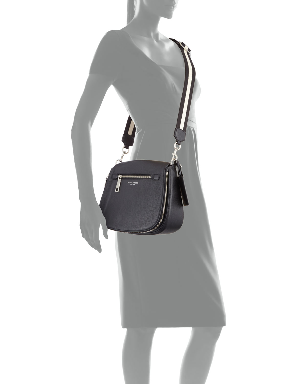 436ba0f544 Marc Jacobs Gotham Leather Saddle Bag   Neiman Marcus
