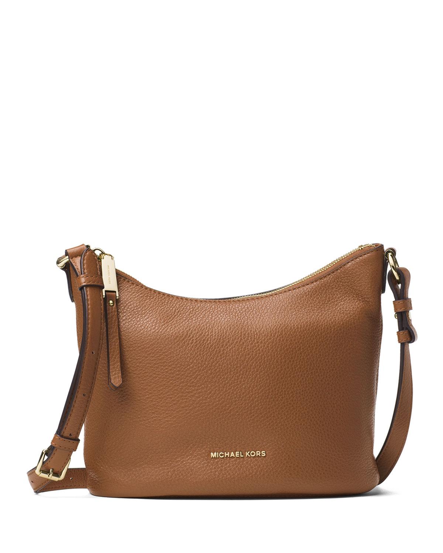 be95046d728a MICHAEL Michael Kors Lupita Medium Leather Messenger Bag