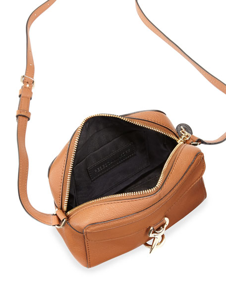 Mab Leather Camera Bag Almond