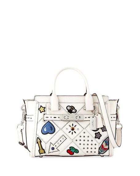 coach satchel bag outlet  quilt satchel