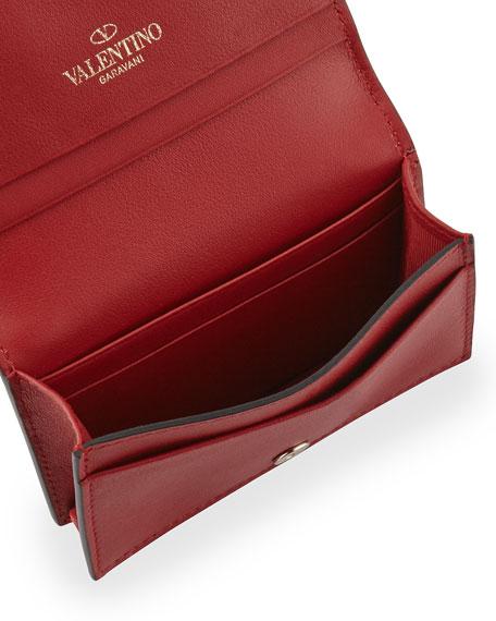 Rockstud Small Full-Flap Card Case