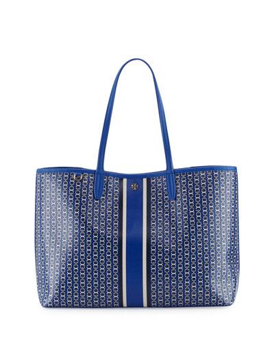Gemini Link Tote Bag, Jewel Blue