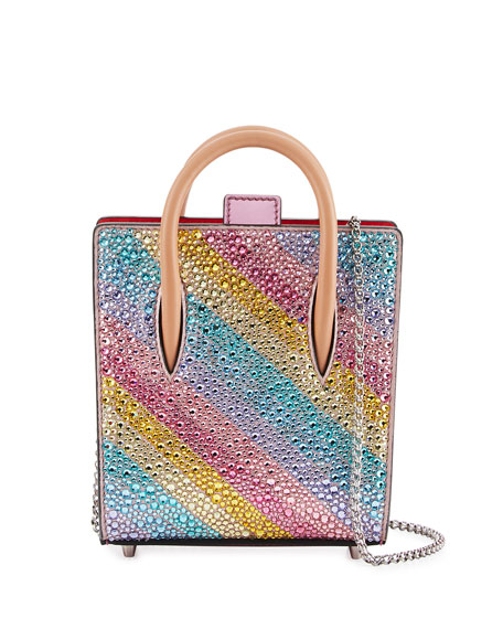 Paloma Nano Rainbow Tote Bag, Multi