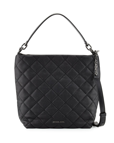 MICHAEL Michael Kors Loni Large Quilted Shoulder Bag,