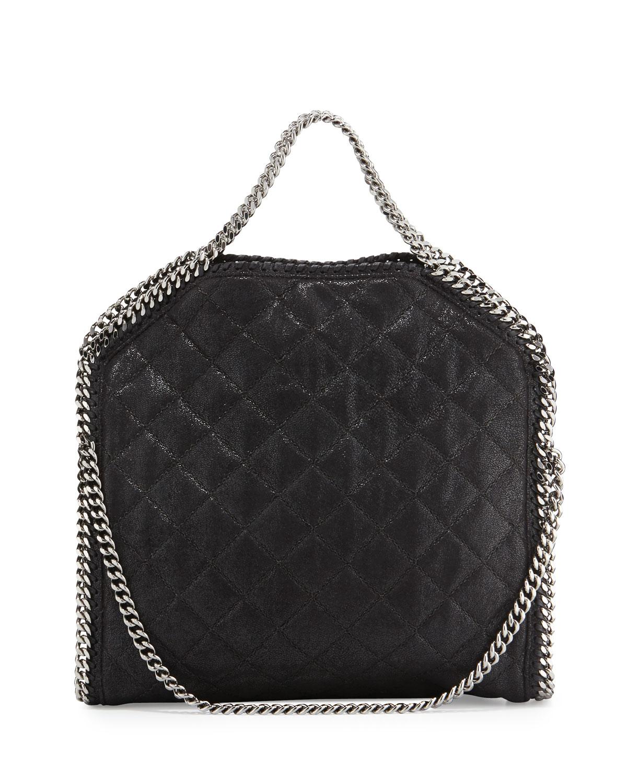 044922cfff Stella McCartney Falabella Three-Chain Fold-Over Tote Bag