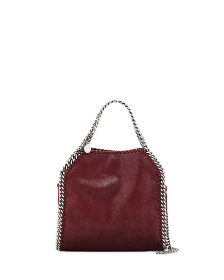 Stella McCartney Falabella Mini Tote Bag, Plum