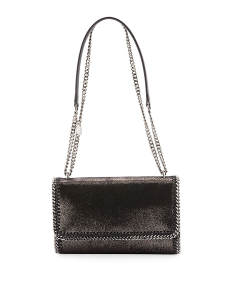 Stella McCartney Falabella Convertible Crossbody Bag, Metallic
