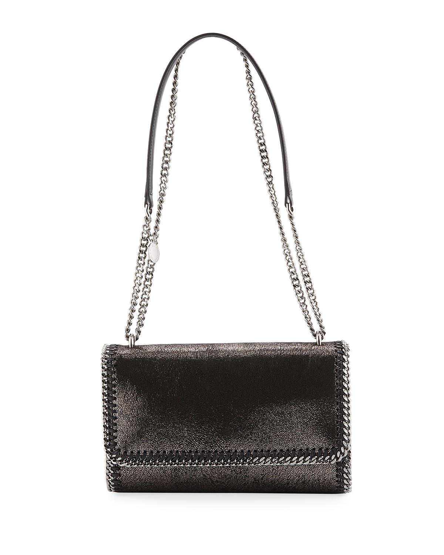 Falabella Convertible Crossbody Bag Metallic