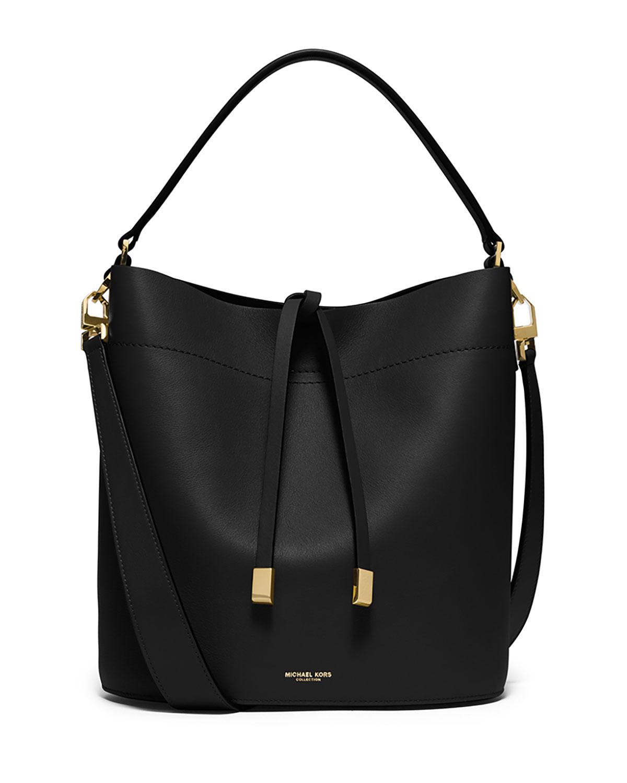 08430d6fdaa5 Michael Kors Miranda Medium Leather Shoulder Bag