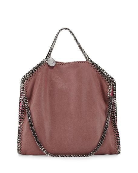 Stella McCartney Falabella Small Colorblock Fold-Over Tote Bag,