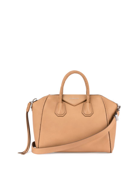 Antigona Medium Braided Satchel Bag