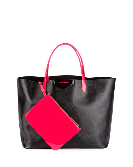 Givenchy Antigona Large Fluorescent Shopper Bag