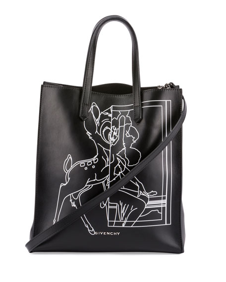 Givenchy Stargate Bambi® Medium Shopper Tote Bag