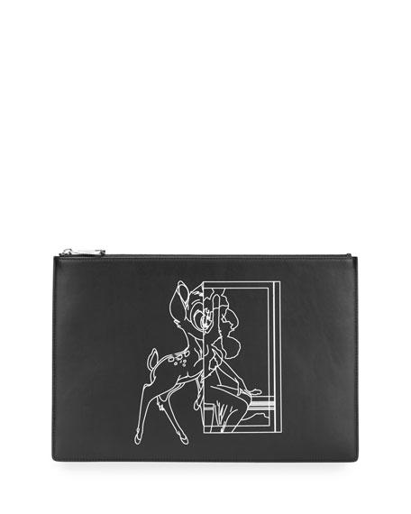 Givenchy Bambi® Medium Pouch, Black