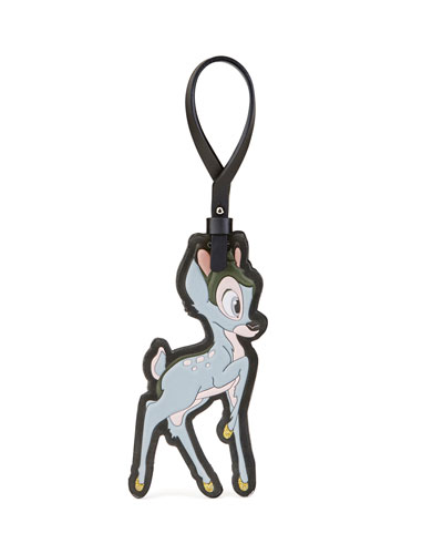 Bambi® Leather Keychain, Multi