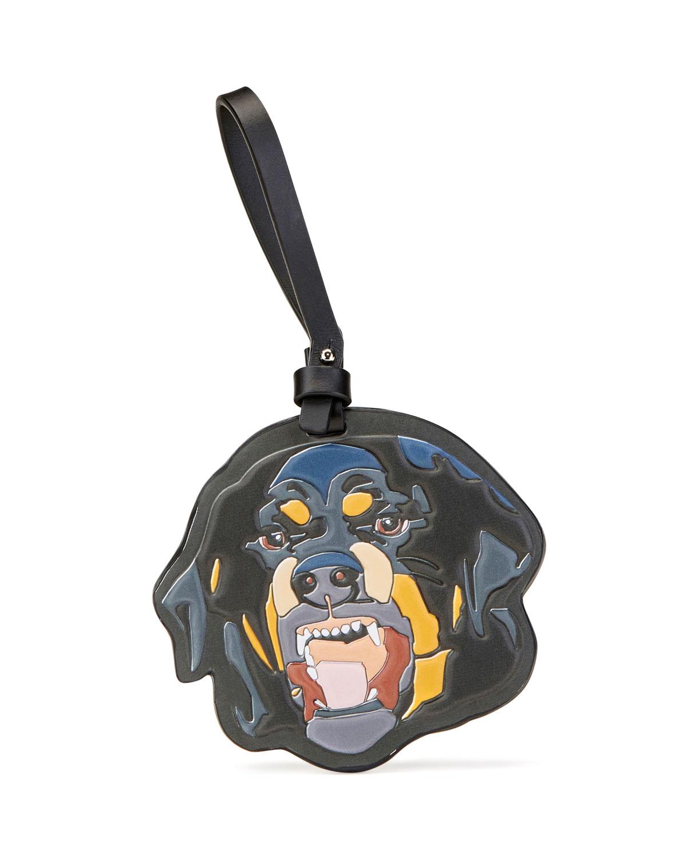 Givenchy Rottweiler Leather Keychain d4e7e34d3