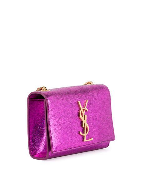 Kate Monogram Small Shoulder Bag, Pink