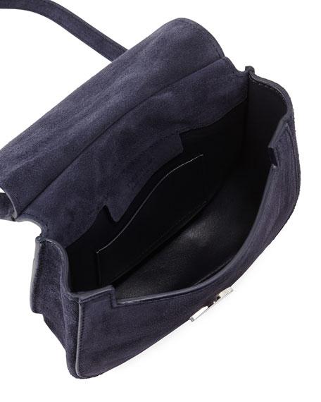 Hunting 7 Suede Crossbody Bag