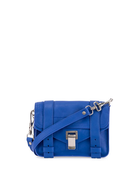 Proenza Schouler PS11 Mini Leather Shoulder Bag, Memphis