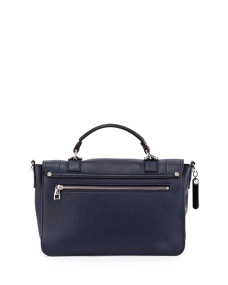 PS1+ Medium Leather Satchel Bag, Indigo