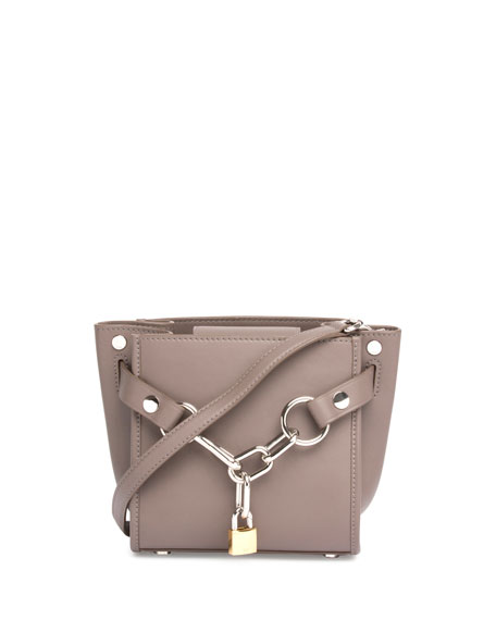Alexander Wang Attica Mini Chain Satchel Bag, Mink