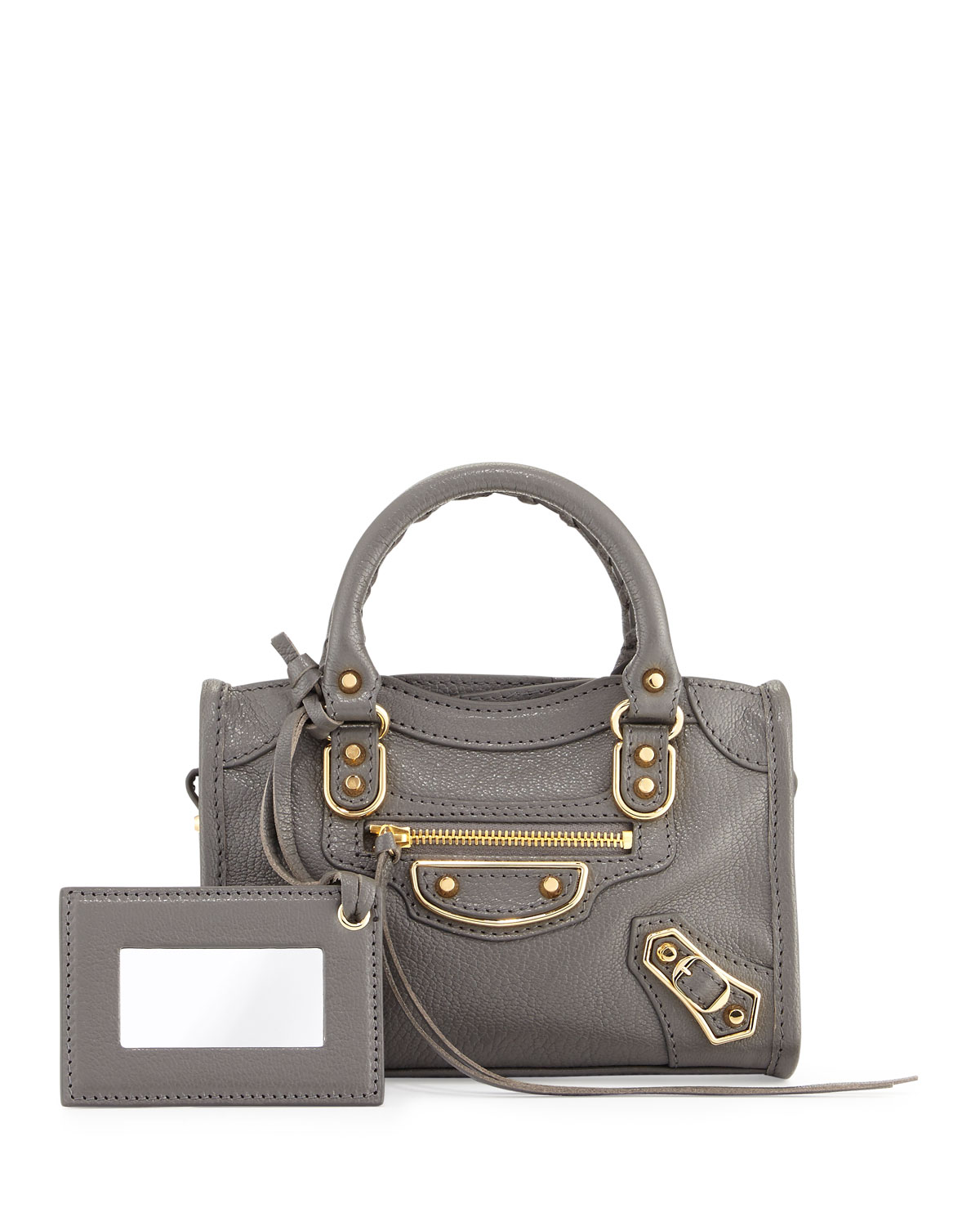 d0d8415f08 Balenciaga Classic Metallic Edge Nano City AJ Crossbody Bag